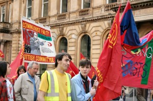 YCL at Glasgow Mayday