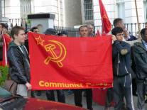 YCLers keeping the red flag flying
