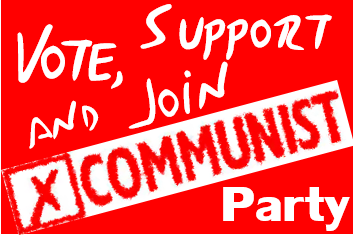 YCL Vote Communist