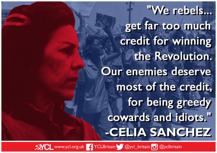 YCL Celia Sanchez IWD 2019 poster 2y
