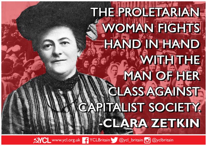 YCL Clara Zetkin IWD 2019 poster copy