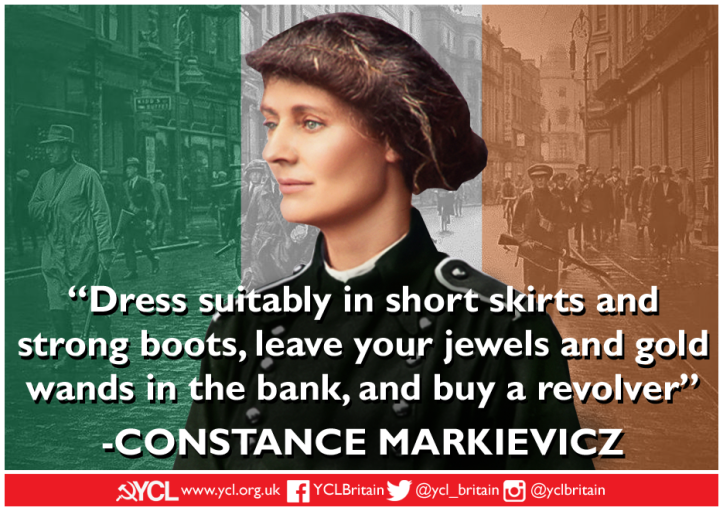 YCL Constance Markievicz IWD 2019 poster copy copy