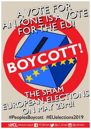 YCL Boycott Poster A3