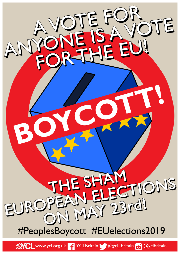 YCL Boycott Poster A3