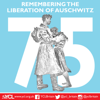 YCL Liberation of Auschwitz 75 copy