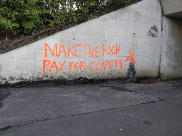 2020 East Kilbride - Make the rich pay for COVID-19