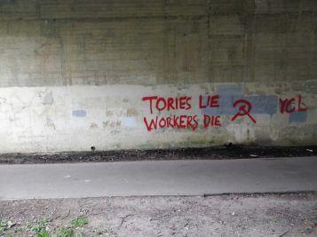 2020 Tories lie workers die